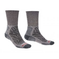 Bridgedale Merino Comfort Hike Lightweight Socks Grey