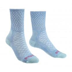 Bridgedale Women's Merino Comfort Hike Lightweight Socks Powder Blue