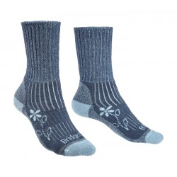 Bridgedale Women's Merino Comfort Hike Midweight Socks Blue