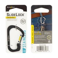 Nite Ize Slide Lock Carabiner #3 Black