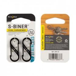 Nite Ize S-Biner #1 Black