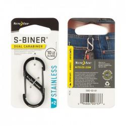Nite Ize S-Biner #2 Black