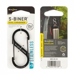 Nite Ize S-Biner #3 Black