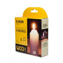 UCO 9hr Candles 3 Pack