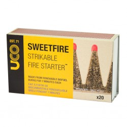 UCO Sweetfire Strikable Firestarters 20 Pack
