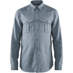 Fjallraven Ovik Travel Shirt Long Sleeve Clay Blue