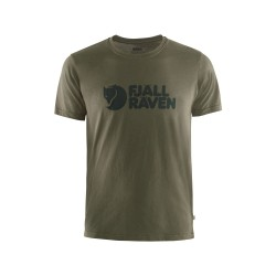 Fjallraven Logo T-Shirt Dark Olive
