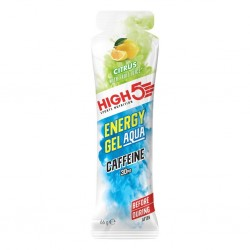 High 5 Energy Gel Aqua Caffeine Citrus