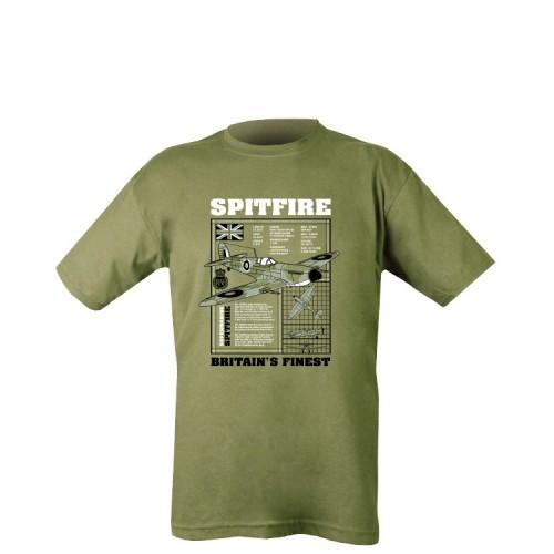 Cotton Tee Shirt Spitfire