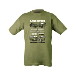 Cotton Tee Shirt Land Rover