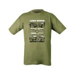 Cotton Tee Shirt Land Rover