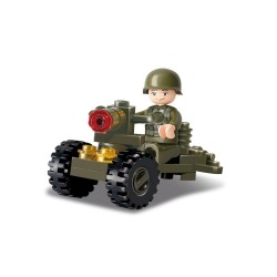 Sluban Military Bricks B0118 Soldier