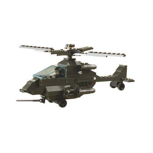 Sluban Military Bricks B6200 Attack Helicopter