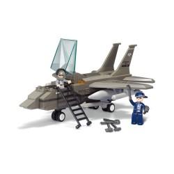 Sluban Military Bricks B7200 Fighter Jet