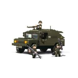 Sluban Military Bricks B9900 SUV
