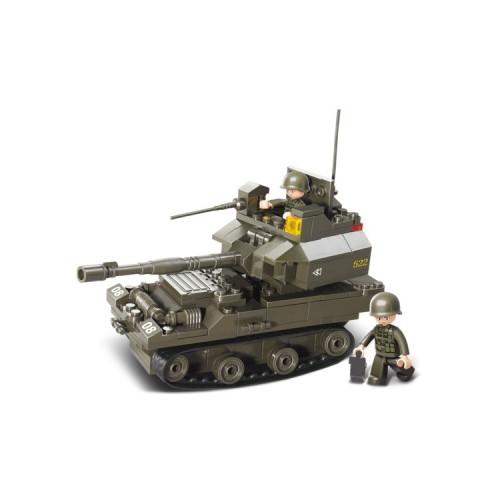 Sluban Military Bricks B0282 Battle Tank