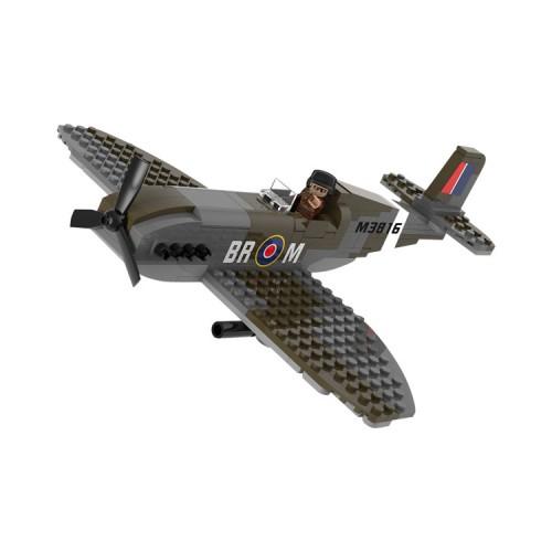 Sluban Military Bricks 70071 WWII Spitfire
