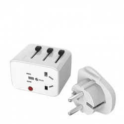 Lifeventure USB World Travel Adapter