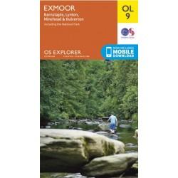 OS Explorer Map OL9 Exmoor