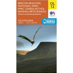 OS Explorer Map OL12 Brecon Beacons West