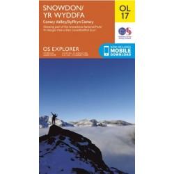 OS Explorer Map OL17 Snowdon