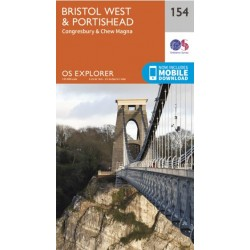 OS Explorer Map 154 Bristol West & Portishead
