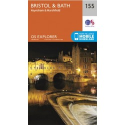 OS Explorer Map 155 Bristol & Bath