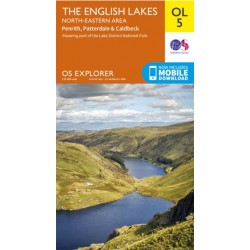 OS Explorer Map OL5 The English Lakes North East