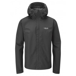 Rab Downpour Eco Jacket Black