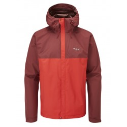 Rab Downpour Eco Jacket Ascent Red