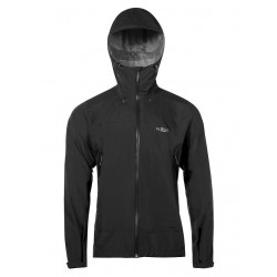 Rab Downpour Plus Jacket Black