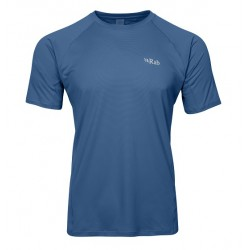 Rab Force Tee Short Sleeve Ink