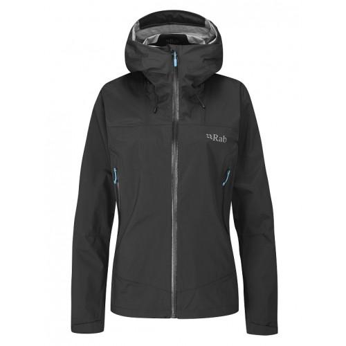 Rab Women's Downpour Plus Jacket Black