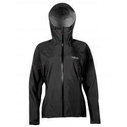 Rab Womens Downpour Plus Jacket Black