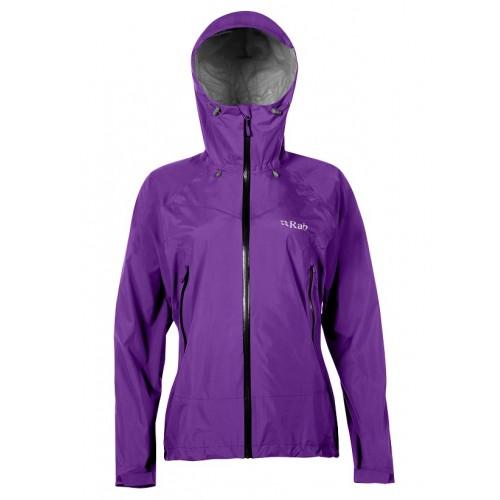 Rab Women's Downpour Plus Jacket Nightshade