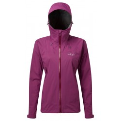 Rab Women's Downpour Plus Jacket Violet