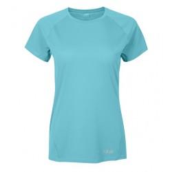 Rab Women's Force Tee Short Sleeve Seaglass