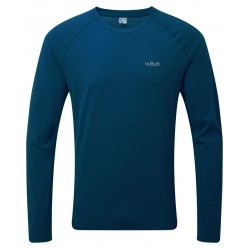 Rab Force Tee Long Sleeve Ink