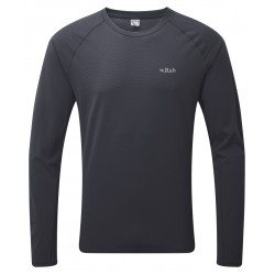 Rab Force Tee Long Sleeve Steel
