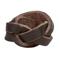 Scouts Plaited Leather Woggle
