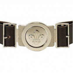Scouts Uniform Leather Belt With Buckle