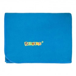 Beavers Sectional Fleece Blanket