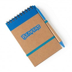 Beavers Eco Notebook With Pen