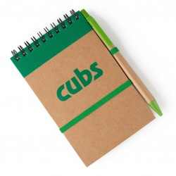 Cubs Eco Notebook With Pen