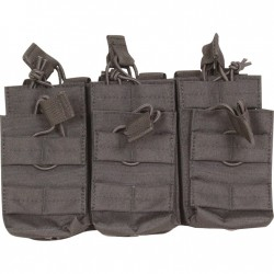 Viper Duo Mag Pouch Treble Black