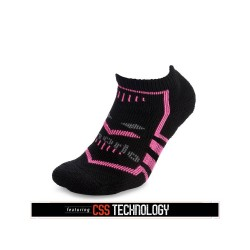 Thorlos Unisex Edge Running Socks Black/Pink