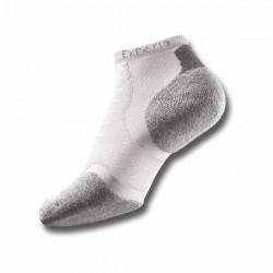 Experia By Thorlos Unisex Running Socks White