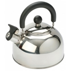 Vango Stainless Steel 2ltr Kettle With Folding Handle
