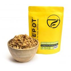 Firepot Meal Vegan Orzo Bolognese