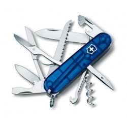Victorinox Huntsman Blue Jelly Swiss Army Knife